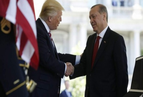 تلبية لدعو ترامب أردوغان يزور واشنطن الشهر المقبل
