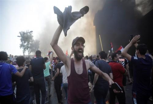 مساع لتأجيل التظاهرات لما بعد انتهاء مراسم زيارة الأربعينية