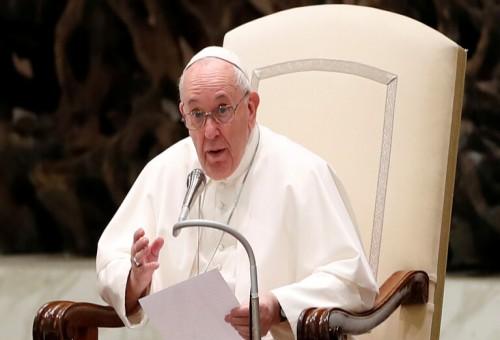 """البابا فرنسيس: """"الجوع بالنسبة للبشرية ليس مجرد مأساة، بل عار"""""""