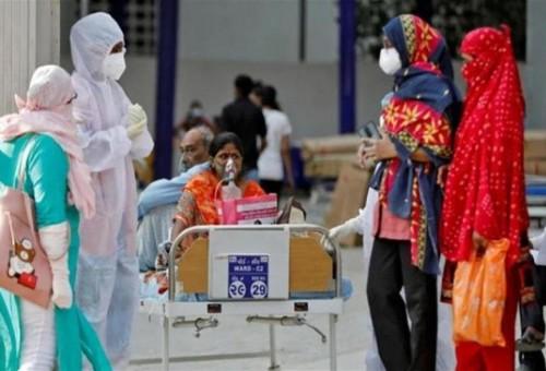 كورونا يواصل احكام قبضته على الهند.. الاصابات تلامس 20 مليونا
