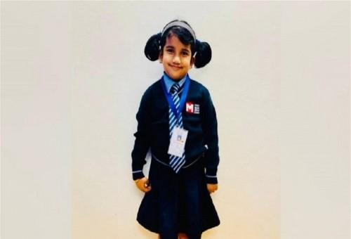 طفلة هندية تسجل رقما قياسيا عالميا