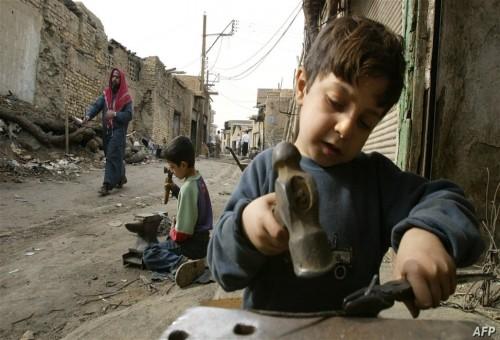 منظمة دولية تكشف عدد الاطفال العاملين حول العالم