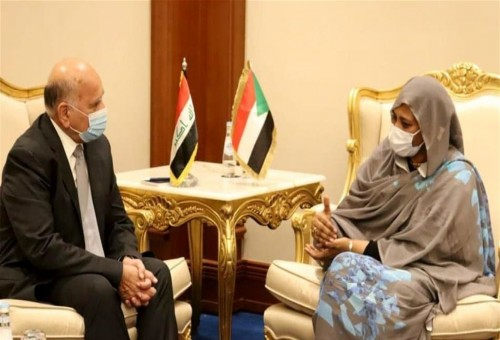 العراق والسودان يبحثان تداعيات أزمة سد النهضة على المنطقة