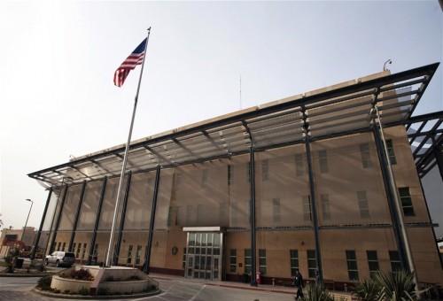 صافرات انذار السفارة الأمريكية تدوي وسط بغداد.. مصدر يوضح