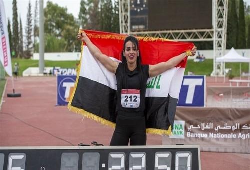 الاتحاد الدولي يمنع العداءة دانا حسين من المشاركة في أولمبياد طوكيو.. والسبب؟