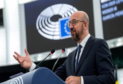 ميشيل يطالب الكاظمي بموقف حازم من المهاجرين العراقيين في ليتوانيا
