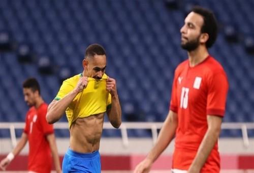البرازيل تطيح بمصر من أولمبياد طوكيو