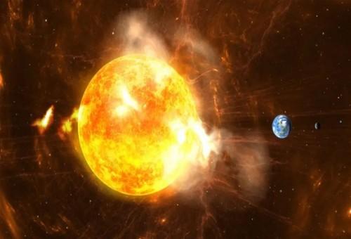 معهد فلكي يوضح بشأن تعرض الأرض لعاصفة شمسية تقطع الإنترنت
